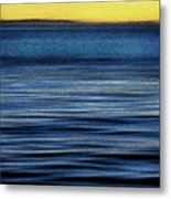 The Deep Blue Pacific Metal Print