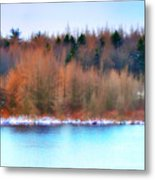 The Deep Forbidden Lake Metal Print