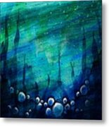 The Deep Places Metal Print