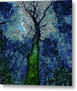 The Deep Wood Metal Print