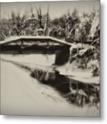 The Delaware Canal At Washingtons Crossing  Metal Print