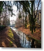 The Delaware Canal In New Hope Pa Metal Print