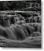 The Dells Of The Eau Claire Panoramic Metal Print