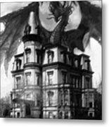 The Demon Of Hell House Metal Print