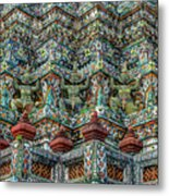 The Demons Of The Temple Metal Print