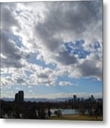 The Denver Sky Metal Print