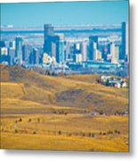 The Denver Skyline II Metal Print