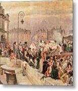 The Departure Of The Volunteers 1792 Metal Print