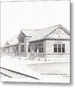 The Depot Mitchell South Dakota Metal Print
