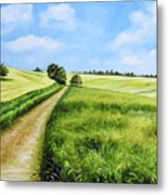 The Derbyshire Dales Metal Print