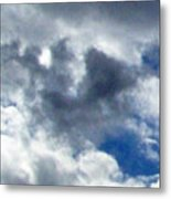 The Desert's Sky Metal Print