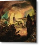The Destruction Metal Print