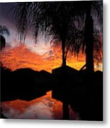 The Devil's Reflection Metal Print