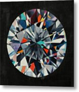 The Diamond Metal Print