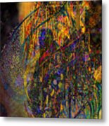 The Digital Heart Of The New City Metal Print
