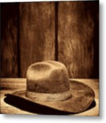 The Dirty Brown Hat Metal Print