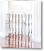 The Disappearing Chair Metal Print