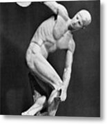 The Discobolus, 450.b.c Metal Print
