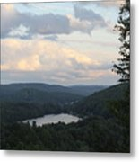 The Distant Hills Of Vermont Metal Print
