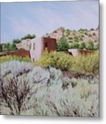 The Dixon House Metal Print