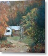 The Dixon Place Metal Print by Ed Gowen