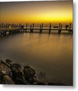 Captiva Sunrise Metal Print