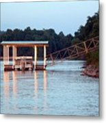 The Dock Metal Print