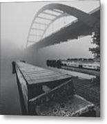 The Docks Metal Print by Amber Dopita