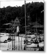 The Docks Metal Print