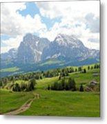The Dolomites, Italy Metal Print