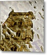 The Dome In The Puddle Metal Print