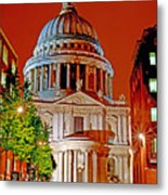 The Dome Of St Pauls Metal Print