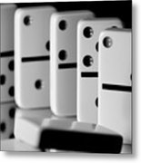 The Domino Effect Metal Print