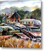 The Donor Cars Metal Print