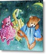 The Doo Doo Bears Metal Print