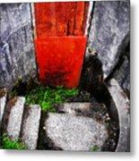 The Door Below Metal Print