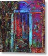 The Door Metal Print