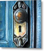 The Door Knob Metal Print