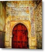 The Door To Alhambra Metal Print