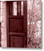 The Door Metal Print