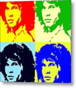 The Doors And Jimmy Metal Print