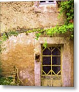 The Doorway To Provence Metal Print