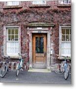 The Dorms At Trinity College Dublin Ireland Metal Print