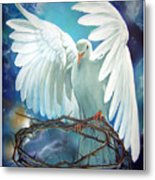 The Dove Metal Print by Larry Cole