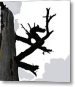 The Dragon Tree Metal Print