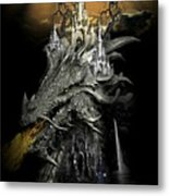 The Dragons Castle Metal Print