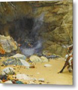 The Dragon's Cave Metal Print