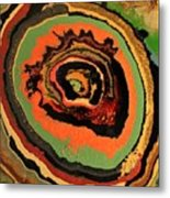The Dragons Eye Metal Print
