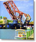 The Drawbridge Metal Print