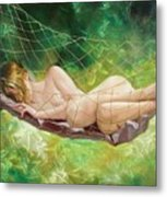 The Dream In Summer Garden Metal Print